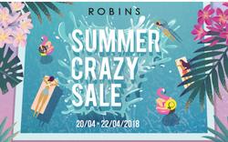 Khởi động mùa hè với Summer Sales tưng bừng tại Robins
