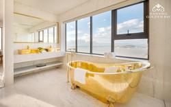 Chiêm ngưỡng khách sạn có bể bơi dát vàng 24k cao nhất và lớn nhất thế giới