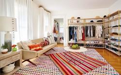 Những mẫu tủ quần áo không cửa nhìn sang, xịn bất chấp nhà rộng hay chật