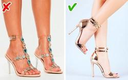 8 kiểu giày dép nhiều chị em cứ tưởng là đẹp nhưng có thể khiến họ mất điểm hoàn toàn trong mắt người đối diện