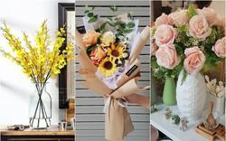 """Hoa lụa đẹp không khác gì hoa thật -  """"thú chơi"""" mới của những chuyên gia trang trí nhà cửa"""