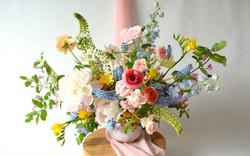 Những cách cắm hoa vừa dễ vừa đẹp trang trí nhà dịp Tết