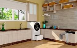"""""""Bí kíp""""thiết kế phòng giặt tiện nghi đểngôi nhà trở nên sang xịn"""