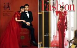 Váy cưới PHUONG MY được Harper's Bazaar Mỹ khen ngợi bên cạnh Vera Wang và Valention