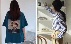 """Có đến 4 cách diện áo phông """"max"""" đẹp và sành điệu mà nàng nào cũng nên áp dụng ngay trong thời tiết giao mùa"""