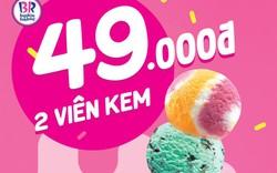 Hè đến – Tới bến cùng combo 2 viên kem nhỏ chỉ 49,000đ từ ngày 20 – 26/5/2019