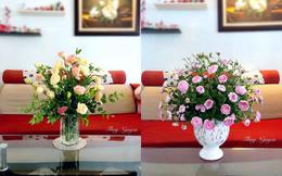 Bí quyết giúp chị em tự cắm hoa rực rỡ nhân ngày 20/10, chẳng cần thấp thỏm chờ đợi cánh mày râu