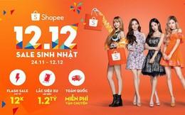 Deal đồng giá 12K, voucher giảm giá lên đến 100K,... đang chờ bạn trên Shopee trong ngày 11/12