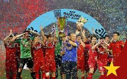 Ảnh chế đội tuyển Việt Nam cầm AFF Cup 2018 đã chính thức trở thành hiện thực, Việt Nam vô địch thật rồi!