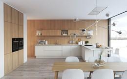 Tạo điểm nhấn ấn tượng cho căn bếp hiện đại