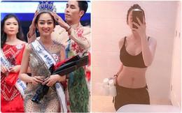 Lên bàn đẻ nặng 70kg, sau sinh mổ 2 tháng, mỹ nhân Cần Thơ đã lấy lại số đo 90-61-89 để đi thi Hoa hậu