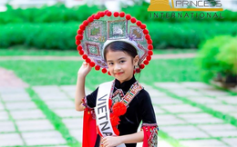 Bé gái Việt 6 tuổi xuất sắc đăng quang Hoa hậu nhí châu Á Thái Bình Dương 2019