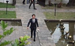 """Vì một hành động trong đám cưới Hoàng Oanh, Trường Giang được khen ngợi là """"ông chồng chiều vợ nhất showbiz Việt"""""""