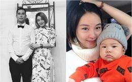 Cựu hot girl Mi Vân lần đầu lộ diện chồng mới nhân kỉ niệm 1 năm về chung nhà, hóa ra bé Chuồn giống bố y đúc