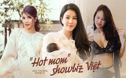 """Vừa """"vượt cạn"""" thành công, những mỹ nhân Việt này đã gây chú ý với màn tái xuất ngoại hình gây thán phục"""