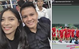 """Đang bận thi đấu, Quang Hải bỗng có chia sẻ về tình yêu đầy bất ngờ trên mạng xã hội khiến fan thi nhau """"đoán già, đoán non"""""""