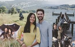 """Chồng Pháp vợ Việt và chuyến trăng mật khác thường kéo dài 1 năm, đội nón lá đạp xe 16.000km """"nhà anh sang nhà nàng"""""""