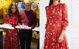 Để không hớ hênh khi mặc váy hở ngực, Công nương Kate khéo léo chỉnh sửa lại thiết kế trước khi diện: Hội chị em ngoài 30 học ngay đi là vừa