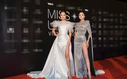 Thảm đỏ bán kết Hoa hậu Hoàn vũ Việt Nam 2019: Vũ Thu Phương quyền lực đọ dáng bên cạnh người đẹp Hương Giang