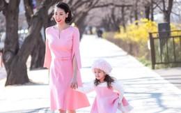 Hoa hậu Hà Kiều Anh khoe dáng thon gọn, rạng rỡ bên con gái cưng ở Hàn Quốc