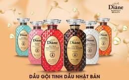 Moist Diane, thương hiệu dầu gội tinh dầu, không silicon Nhật Bản đã phủ sóng khắp Việt Nam