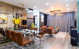 Hoàn thiện trọn gói nội thất căn hộ 98m2 chưa tới 1 tỷ phù hợp với vợ chồng trẻ