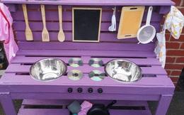Nhìn bộ đồ chơi nhà bếp lung linh, xịn sò thế này, không ai tin chi phí để làm ra nó chưa đến 400.000 đồng