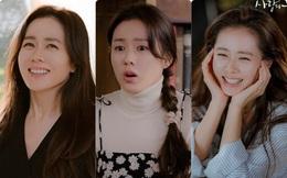 Đoàn làm phim tiết lộ Son Ye Jin không hề trang điểm trong những cảnh quay tại Bắc Triều Tiên, còn rất mộc mạc khi tự làm tóc