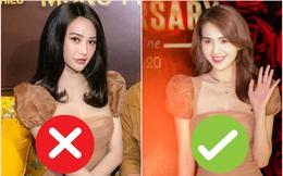 """Đụng váy cùng Ngọc Trinh, Linh Chi mất điểm với kiểu tóc như """"xuyên không"""" từ 10 năm trước"""