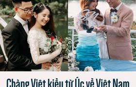 Chàng Việt kiều từ Úc về Việt Nam, ở bên chăm sóc cho vợ bị u não
