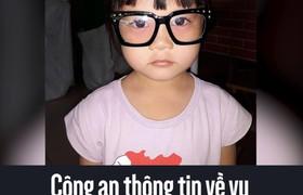 Công an thông tin về vụ bé gái 5 tuổi mất tích ở Sài Gòn