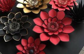 Hướng dẫn cách làm hoa giấy siêu đẹp và dễ dàng!!
