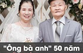 Ông bà anh 50 năm vẫn nắm tay tình tứ