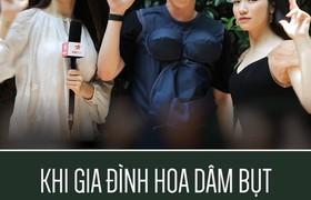 Khi gia đình hoa dâm bụt gặp chị đại Hương Giang...