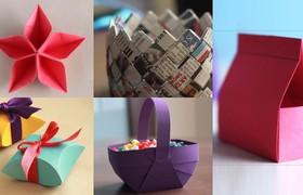 Những ý tưởng sáng tạo từ giấy