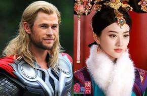 """Chris Hemsworth nên duyên cùng """"Đệ nhất mỹ nữ Bắc Kinh"""""""