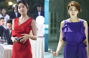 """Soo Ae và """"chị chồng"""" đọ độ quý phái hút hồn khán giả"""