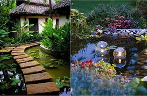 Không gian sống đẹp hơn nhờ ý tưởng trang trí nhà với nước