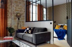 Căn hộ 45m² đơn giản mà đẹp xuất sắc với thiết kế cực hợp lý cho vợ chồng trẻ