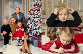 Lộ diện tiểu hoàng tử và công chúa đẹp lung linh