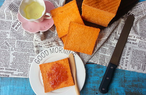 Làm bánh mỳ phô mai thơm phức mời cả nhà ăn sáng