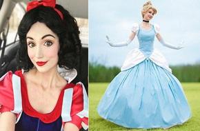 Cô gái chi cả núi tiền để hóa thân thành các nàng công chúa Disney