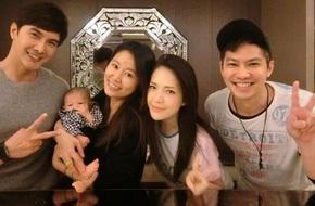 Lâm Tâm Như được bạn bè tổ chức tiệc chào mừng con gái sắp sinh, Hoắc Kiến Hoa vắng mặt