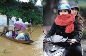 Miền Trung tiếp tục mưa to, miền Bắc rét đậm dưới 10 độ
