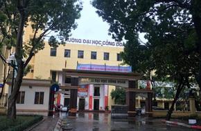 Hà Nội: ĐH Công Đoàn đóng cửa cổng trong giờ học để tránh... tai nạn giao thông