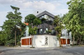 Căn biệt thự 110m² vừa xanh, vừa sang khiến nhiều người mơ ước ở Yên Hòa, Hà Nội
