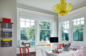 Nếu sơn tường nhà bạn màu xám thì đây chính là cách giúp ngôi nhà trở nên sinh động