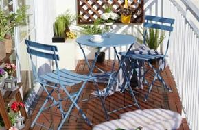 Những mẫu bàn ghế sinh ra dành cho nhà có ban công nhỏ