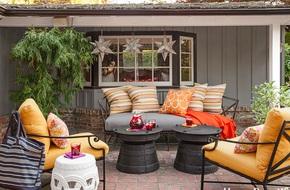 14 ý tưởng biến sân vườn hoặc khoảng trống trong nhà thành góc thư giãn