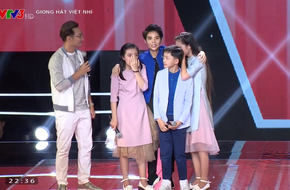 Giọng hát Việt nhí: Vũ Cát Tường đau lòng xin Soobin Hoàng Sơn và Hương Tràm cứu thí sinh